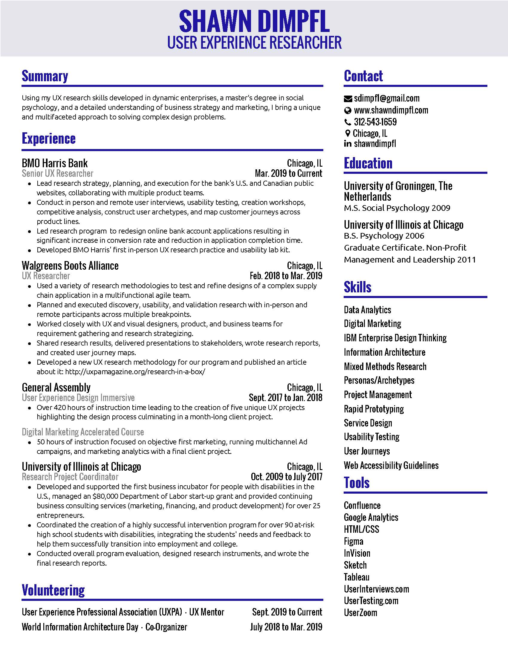 Shawn Dimpfl Resume 8-25-20